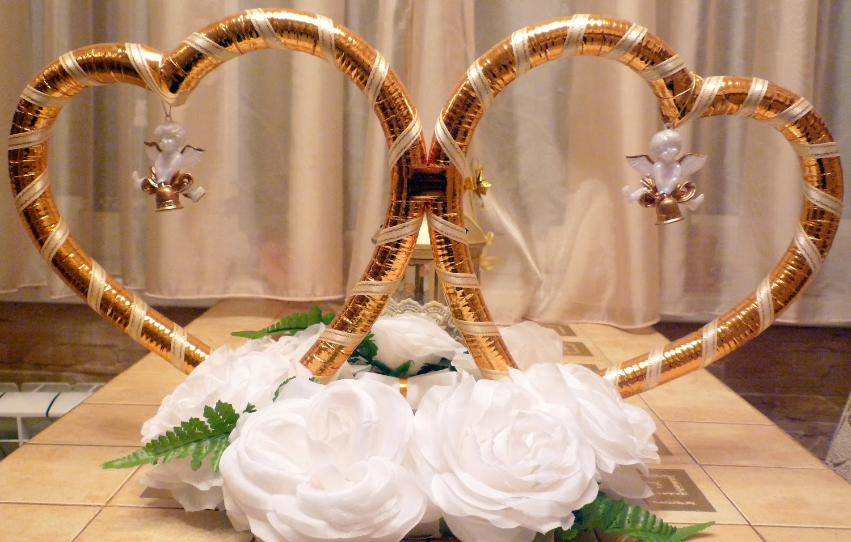 Кольца для машины свадебные своими руками