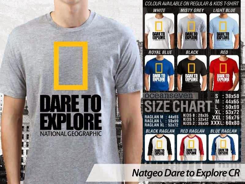 Kaos National Geographic NatGeo Dare to Explore distro ocean seven