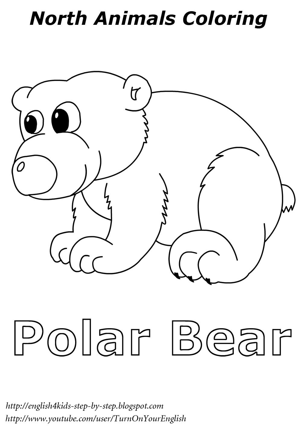 [PDF]Arctic & Antarctic activity book NOAA Education Resources - polar bear coloring pages