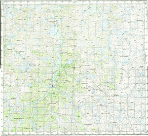 Map 100k--r36-131_132--(1966)