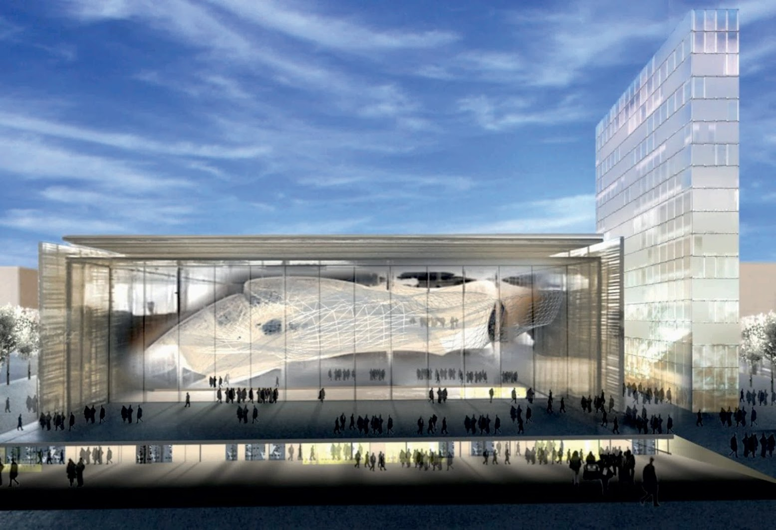 Roma, Italia: [EUR CONGRESS CENTER BY FUKSAS]