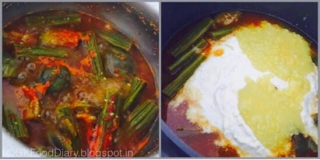 Puli Illa Kuzhambu Recipe (Tirunelveli Special kuzhambu withouttamarind) | Kuzhambu Recipes 5