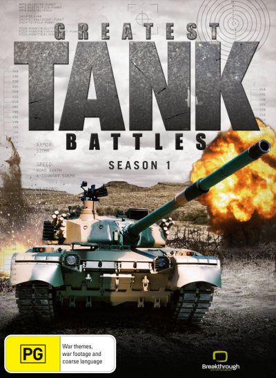 Najwi�ksze Bitwy Pancerne / Greatest Tank Battles {Sezon 1} (2010) PL.TVRip.XviD / Lektor PL