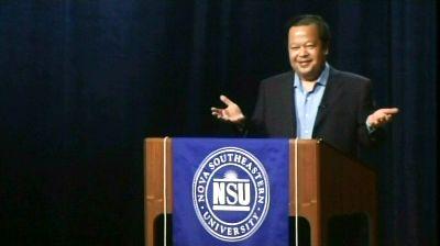 Prem Rawat Maharaji en Nova Southeastern University