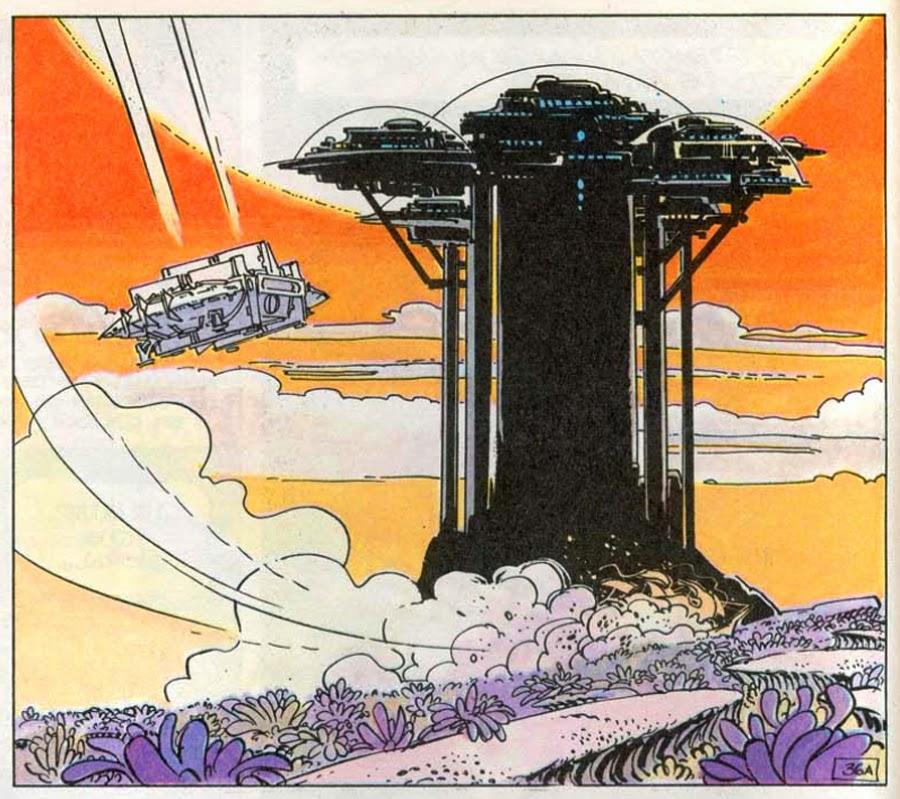 Art Of Comics And Manga: Dark Roasted Blend: Epic 1970s French Space Comic Art