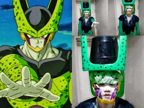 Image of Perfect Cosplay for Cell of Dragon Ball Z