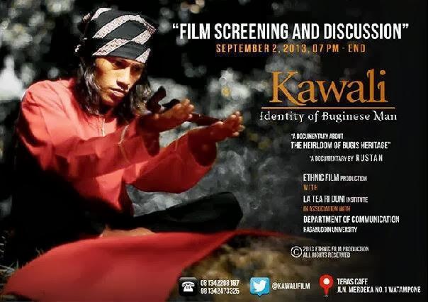 kawali (identiity of bugis man)