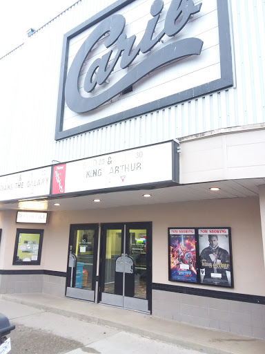 Carib Theatre Quesnel, 367 Reid St, Quesnel, BC V2J 2C7, Canada, Movie Theater, state British Columbia