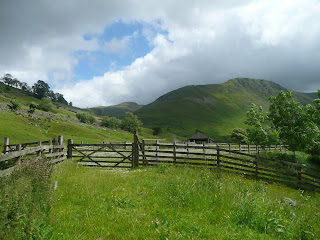 Gray Crag from Hartsop Car Park