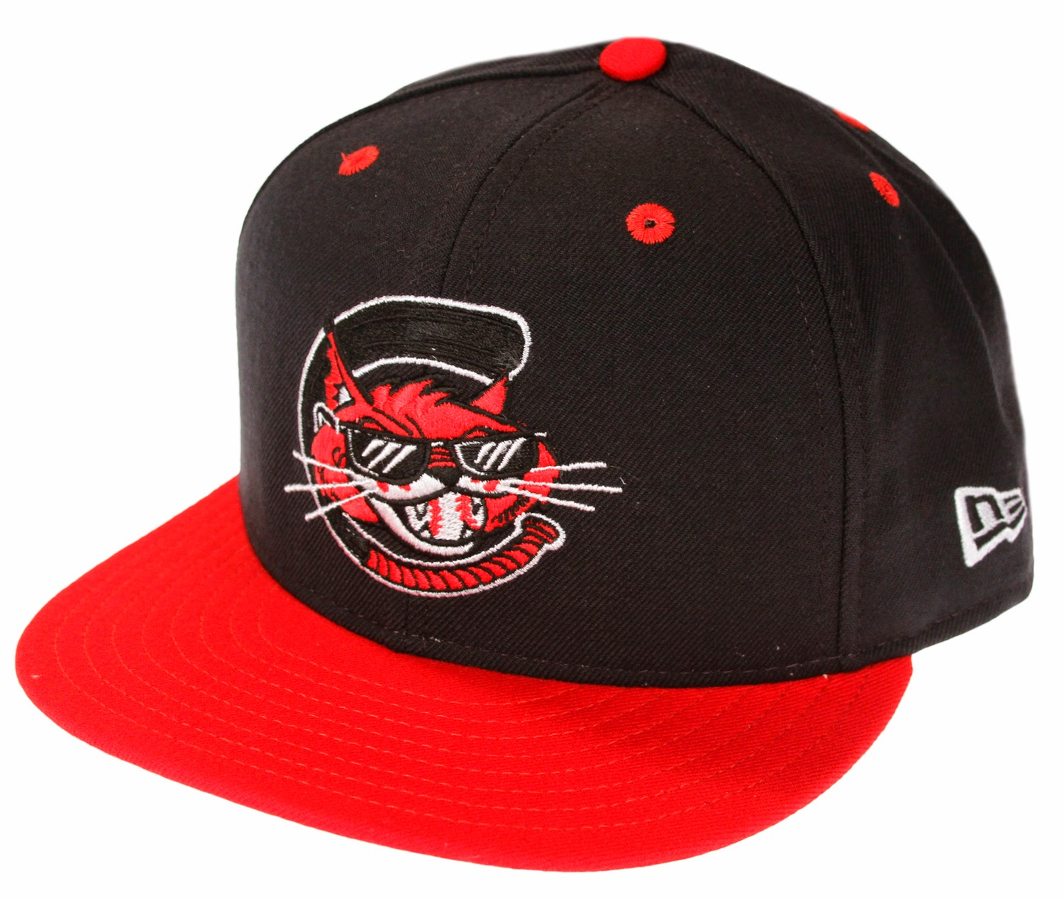 new era milb minor league charleston alley cats baseball