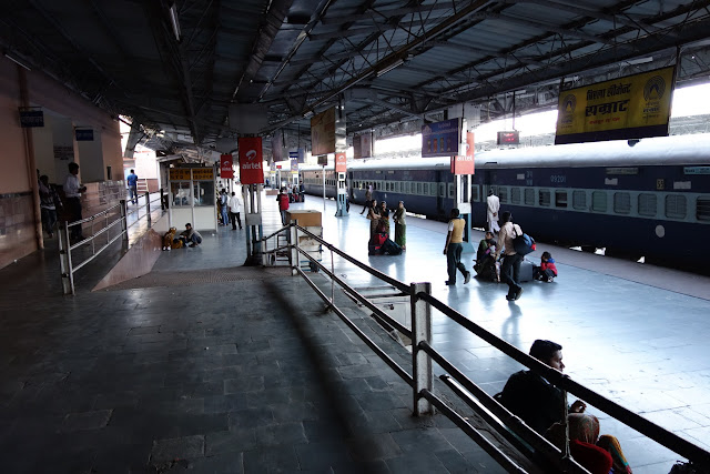 Udaipur's train station.
