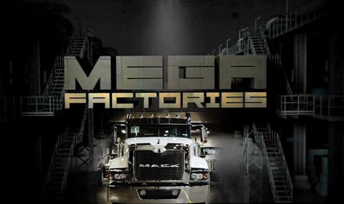 Megafabryki Mack Trucks / Megafactories Mack Trucks (2011) PL.TVRip.XviD / Lektor PL