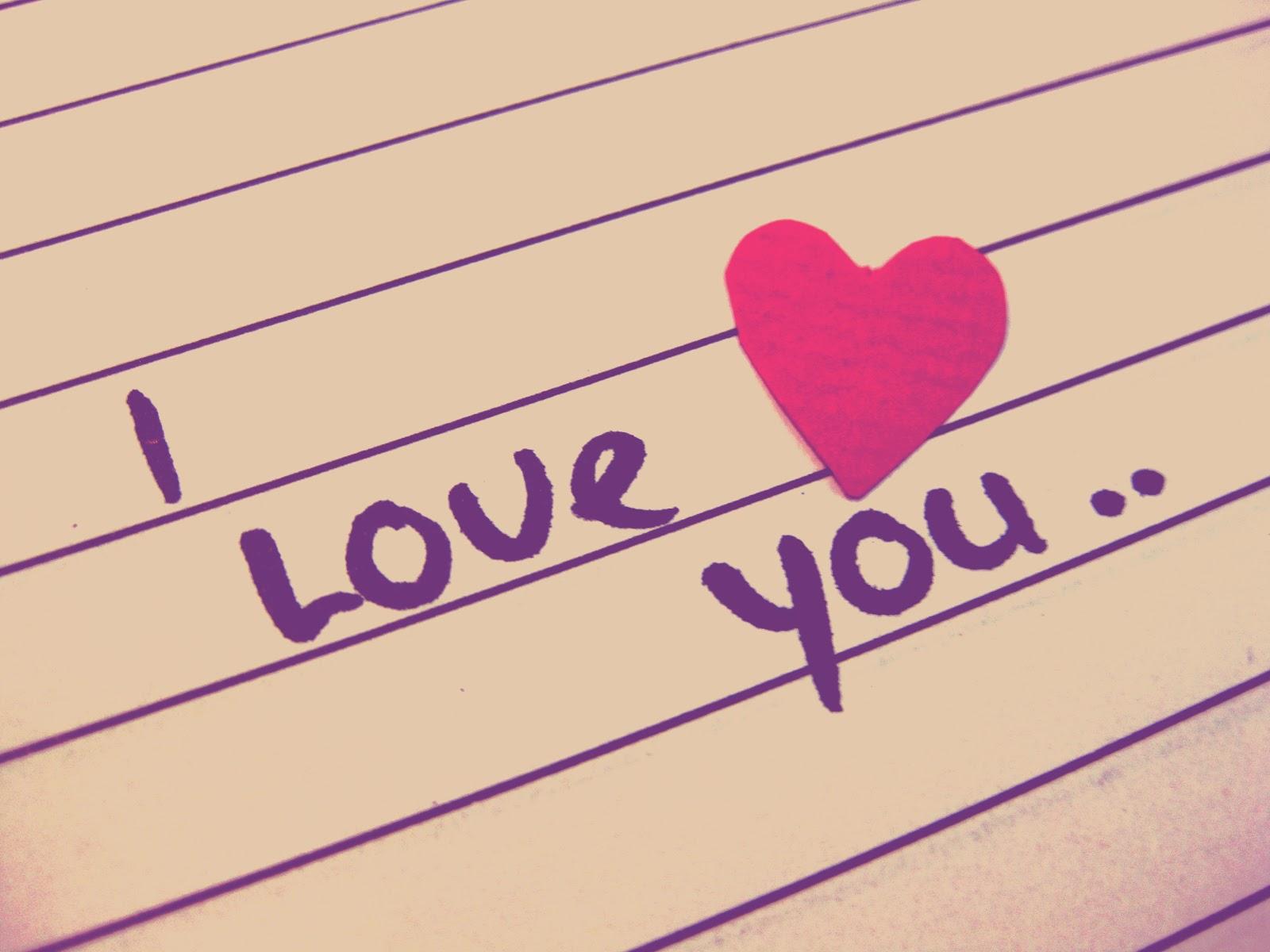 Gambar kata lucu i love you