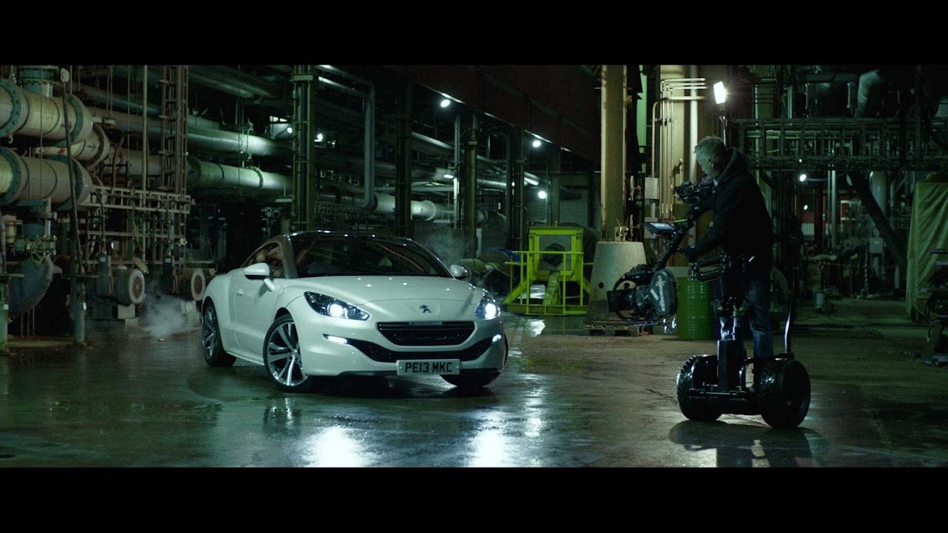 Peugeot Celebrates Filmmaking In New Adverts