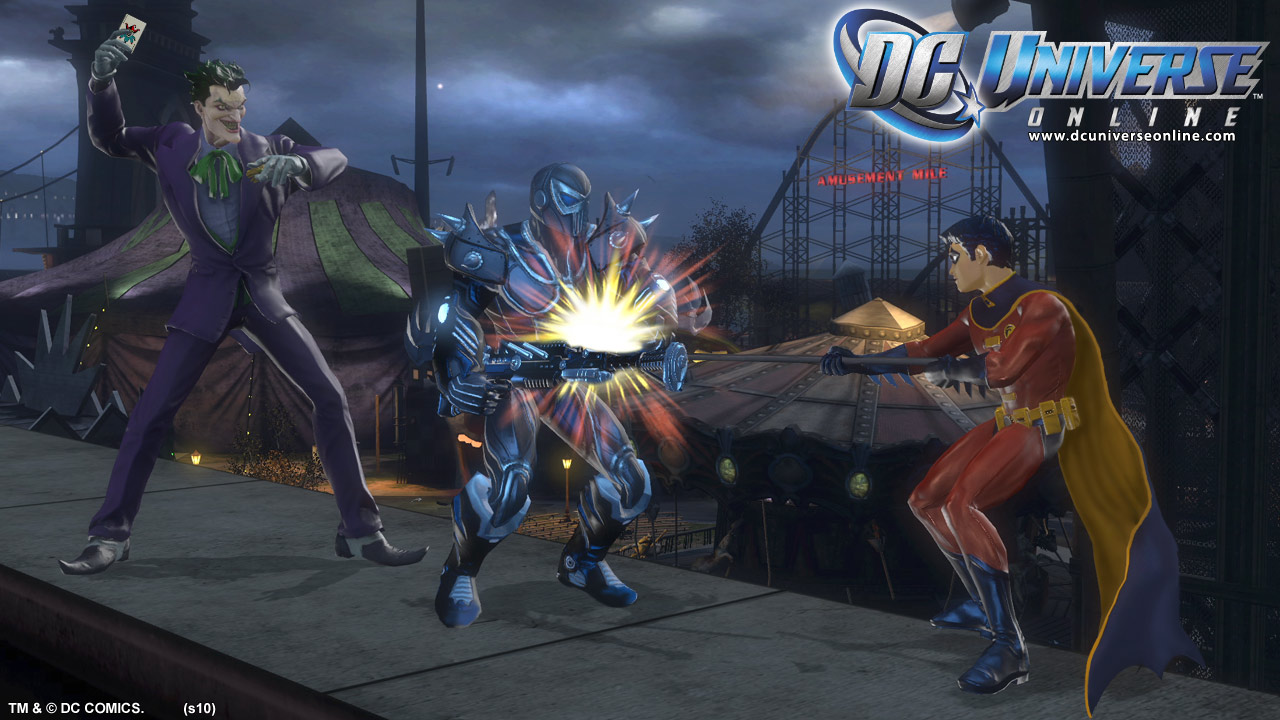 Khám phá DC Universe Online: Jokers - Ảnh 3