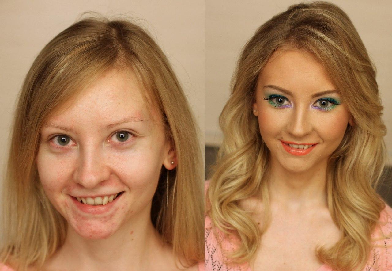 Как изменить внешность макияжем