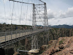 Nice picture of the bridge over the 1000-ft deep gorge
