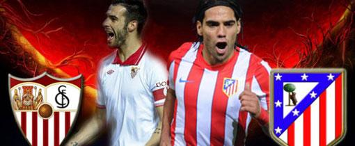 Sevilla vs. Atlético de Madrid en Vivo - Copa del Rey 2013