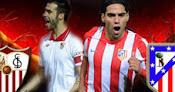 Sevilla vs. Atlético de Madrid en Vivo - Copa del Rey