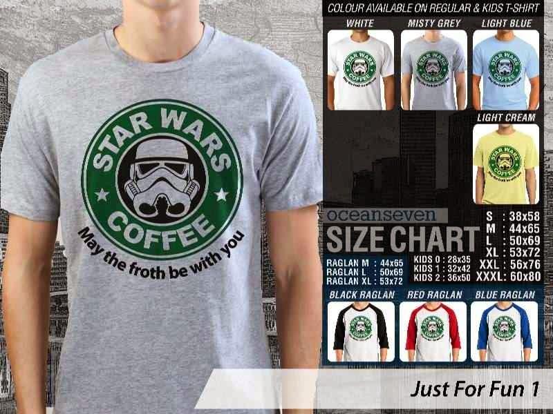 Kaos star wars Coffee distro ocean seven