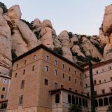Nestled Into The Mountain - Montserrat, Spain