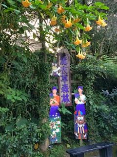 Entrance of Lavender Cottage