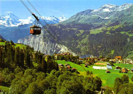 Glatt Kosher Summer Vacation in Wengen Switzerland - Hosted by TourPlus