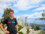 Mike at Maggie's Peak