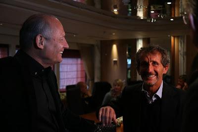 Рон Деннис и Алан Прост на Гран-при Монако 2013