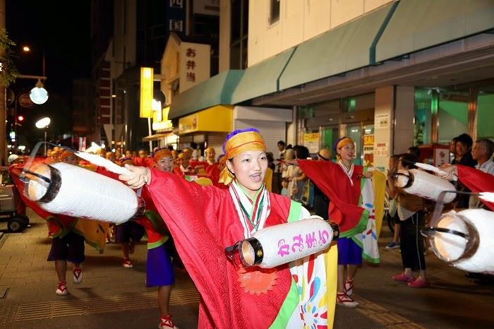 第60回よさこい祭り☆本祭2日目・上町競演場16☆上2目2733