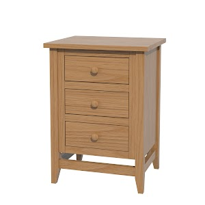 Venice Nightstand with Drawers