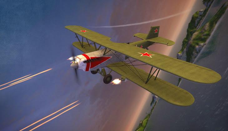 Chiến đấu cơ hoành tráng trong World of Warplanes - Ảnh 19