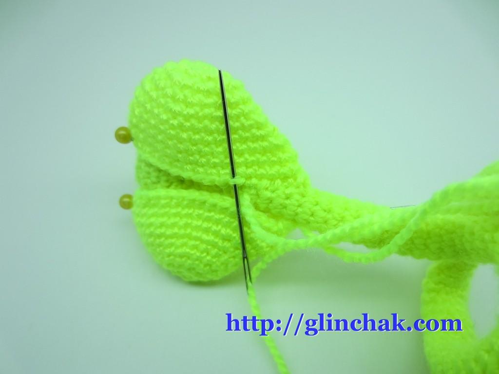 Мастер-класс по вязанию крючком: Кобра амигуруми.