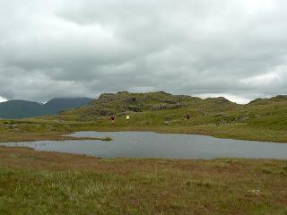 A tarn near Blea Rigg