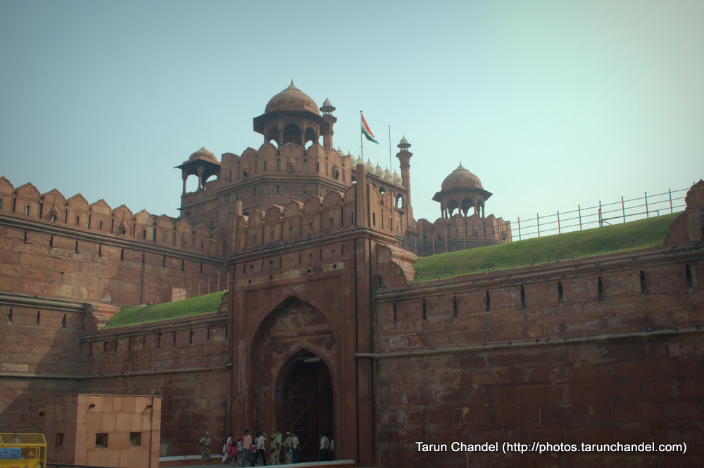Entrance of the Red Fort, Delhi, Tarun Chandel Photoblog