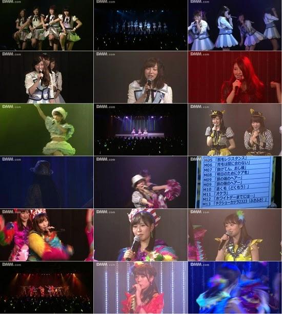 """(LIVE)(公演) NMB48 チームN """"ここにだって天使はいる"""" 公演 150305"""