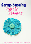Scrap-Busting Fabric Flower