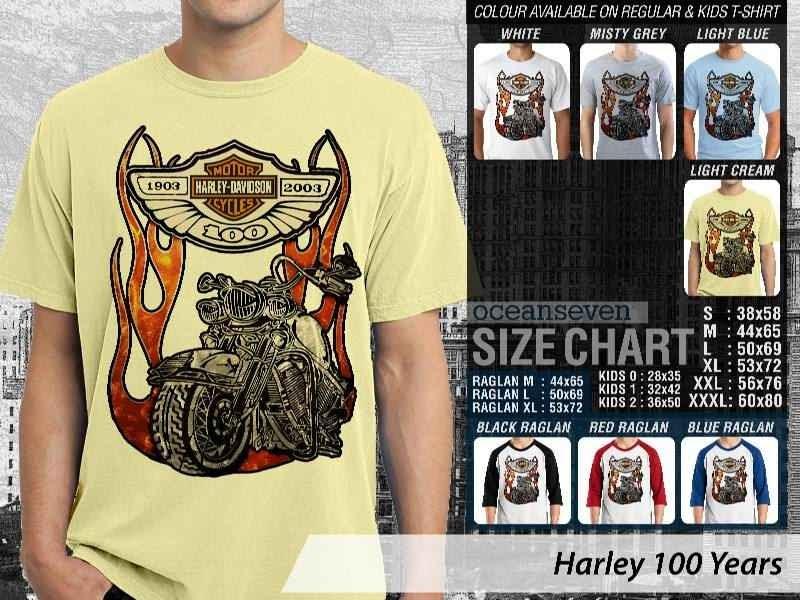 KAOS Harley Davidson 1 Logo Motor distro ocean seven