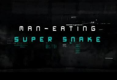 W�e ludojady / Man-Eating Super Snake (2011) PL.TVRip.XviD / Lektor PL