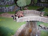 Heavy resistance near the bridge.  Wolf leap proved entertaining!