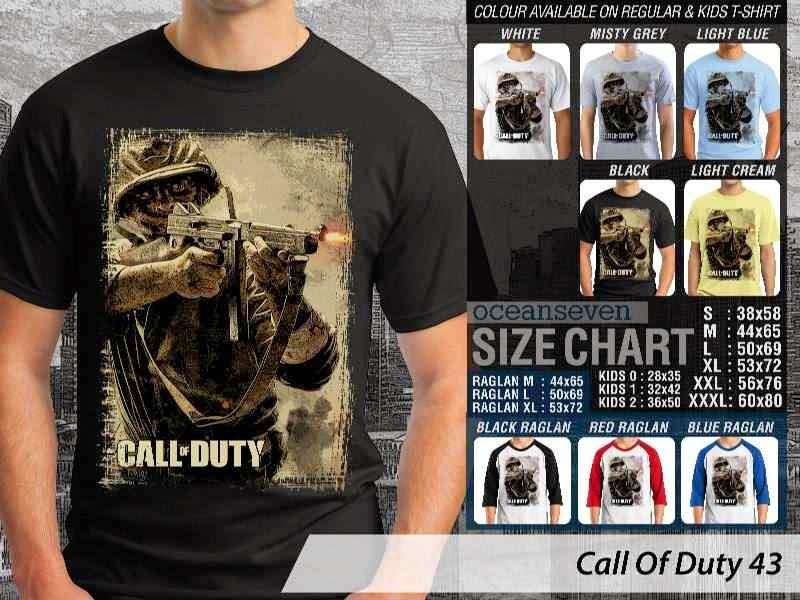 KAOS cod Call Of Duty 43 Game Series distro ocean seven