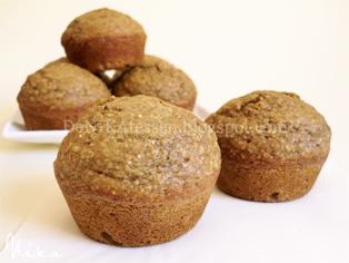 muffins de salvado de avena