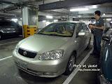 第二天行程,早上 9 時,台灣朋友駕著車子來飯店接載我們去遊玩。