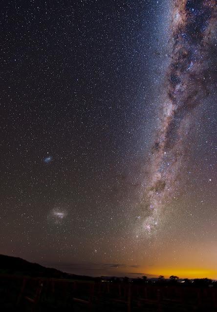 Kumpulan Gambar Bintang yang Sangat Indah di Langit Malam