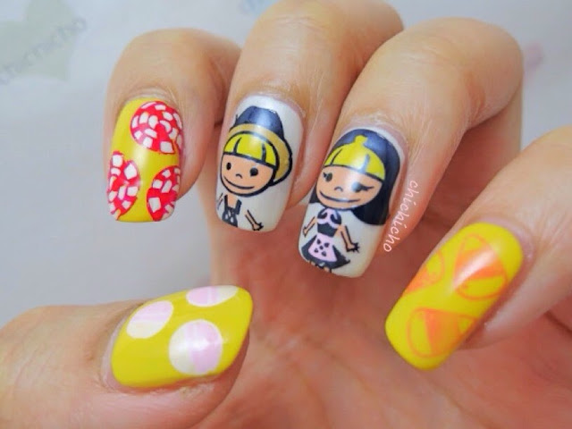 Hansel and Gretel Nail Art with xiuya09 (Moyou Fairy Tale 11)
