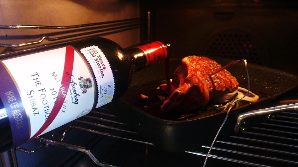Ribeye Sexy Time Steak Four Hour Chef Tim Ferris garlic red wine jus sauce