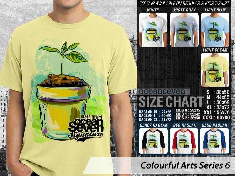 KAOS keren Colourful Arts Series 6 Go Green Tree | KAOS Colourful Arts Series 6 distro ocean seven
