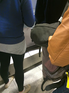 Initial impression was not good...Everybody was hoarding around the baggage belt - couldn't grab my suitcase because nobody would move!!!!