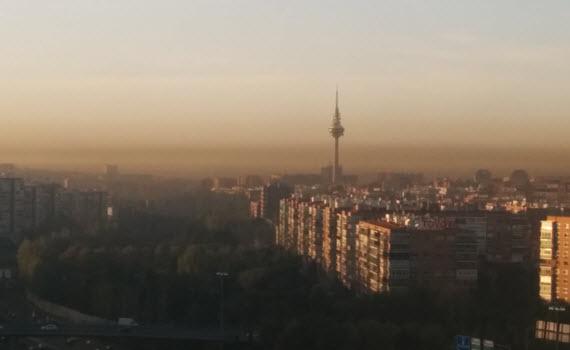 Aviso por alta contaminación en dióxido de nitrógeno (NO2) - jueves 12 de noviembre