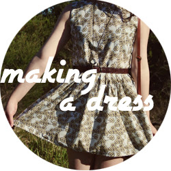How to sew a dress